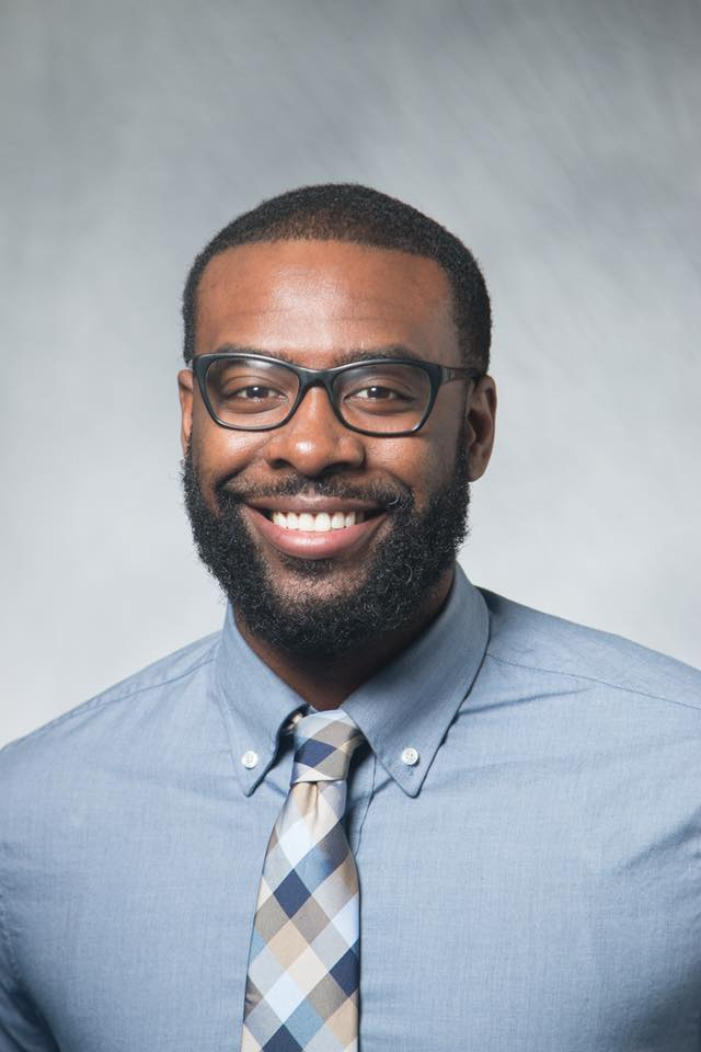 Mr. Antwone Cameron, member of the Board of Directors at the Notre Dame Academy catholic all-girls school in Covington, Northern Kentucky.