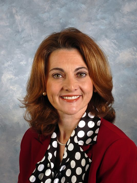 Ms. Alecia Webb Edgington, member of the Board of Directors at the Notre Dame Academy catholic all-girls school in Covington, Northern Kentucky.