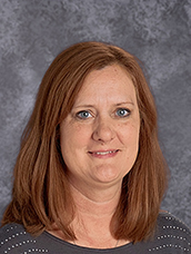 Robyn Cox - Administrative Assistant at the Notre Dame Academy catholic all-girls school in Covington, Northern Kentucky.