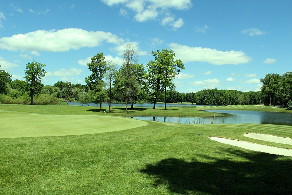 A view of the golf course for the Notre Dame Academy Golf Outing Athletic Fundraiser.