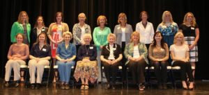 The 2014 Athletic Hall of Fame Inductees at the Notre Dame Academy catholic all-girls school in Covington, Northern Kentucky.