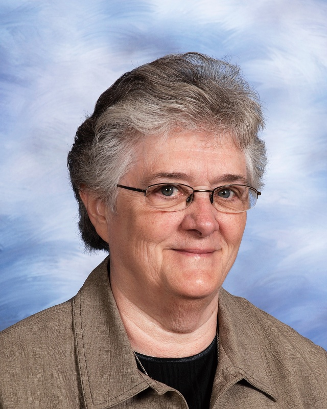 Sr. Dennise Wagenlander, SND '63, member of the Board of Directors at the Notre Dame Academy catholic all-girls school in Covington, Northern Kentucky.