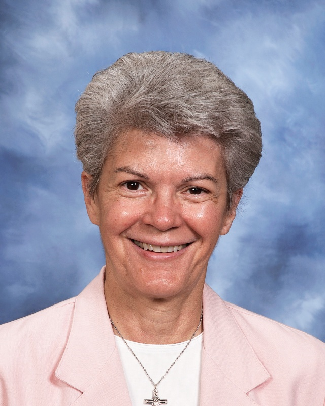 Sr. Judine Lambert, SND, member of the Board of Directors at the Notre Dame Academy catholic all-girls school in Covington, Northern Kentucky.