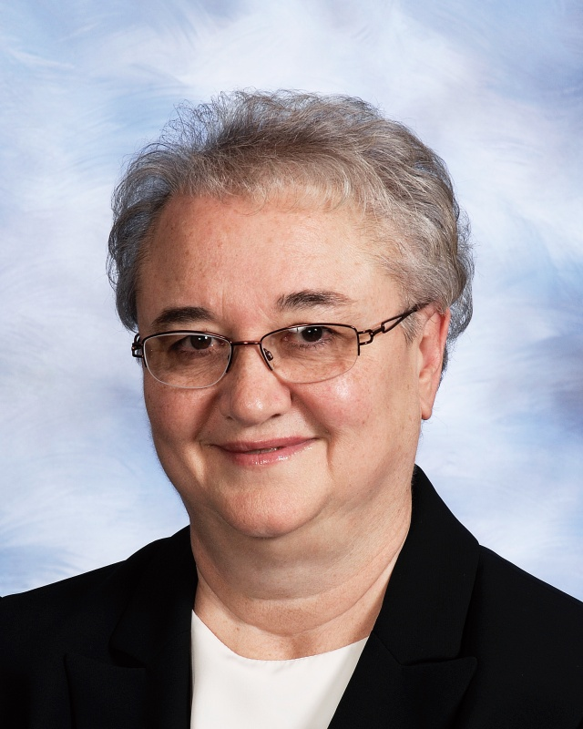 Sister Marla Monahan, alumnae from the Notre Dame Academy catholic all-girls school in Covington, Northern Kentucky
