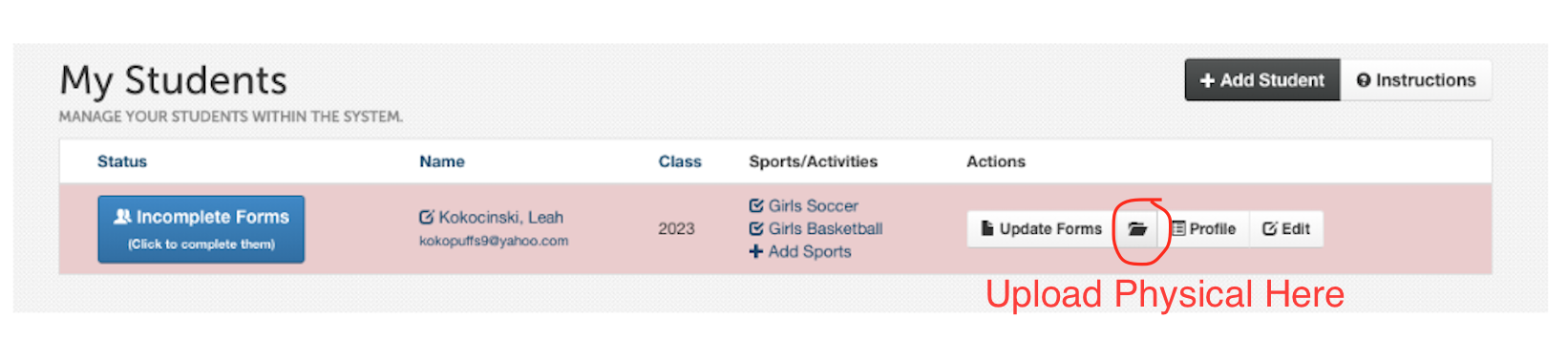 Notre Dame Academy > Athletics > Athletic Information and Forms