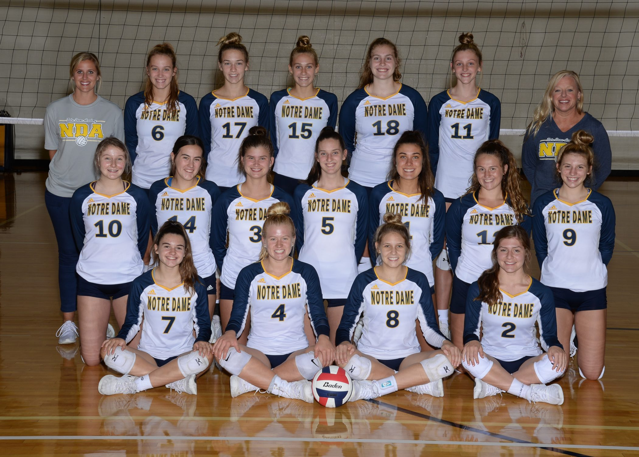 Notre Dame Academy Athletics Teams And Schedules Fall Sports Volleyball