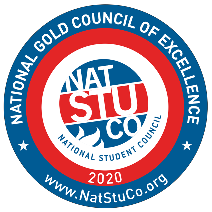 National Gold Council of Excellence badge.